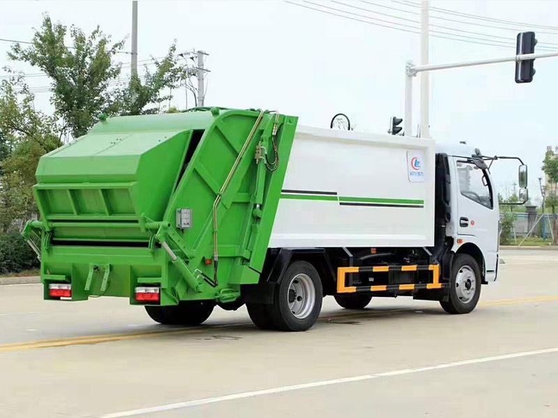 国六东风凯普特D7压缩式垃圾车