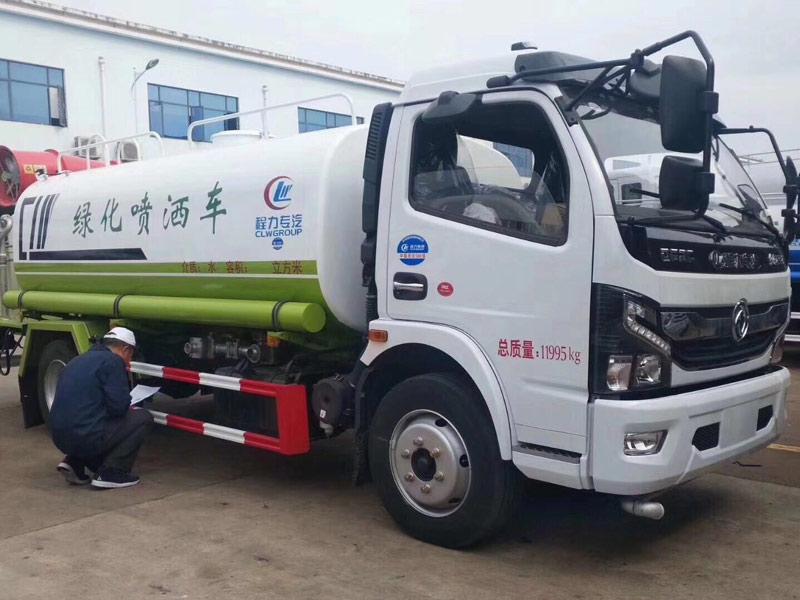 国六东风凯普特绿化喷洒车