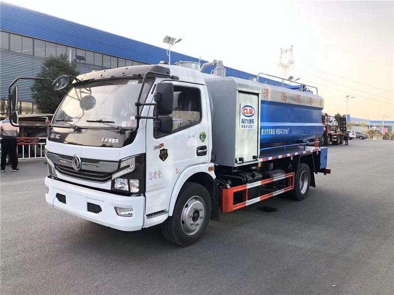 国六东风凯普特清洗吸污车